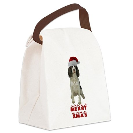 FIN-springer-spaniel-brown-xmas.png Canvas Lunch B