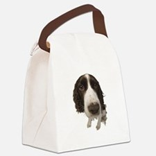 FIN-springer-spaniel-closeup.png Canvas Lunch Bag