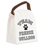 FIN-team-french-bulldog.png Canvas Lunch Bag