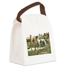 FIN-greyhound-portrait.png Canvas Lunch Bag