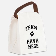Team Havanese Canvas Lunch Bag