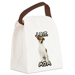 Jack Russell Terrier Mom Canvas Lunch Bag