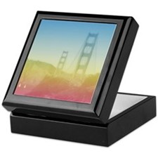 Dreamy Golden Gate Bridge Keepsake Box
