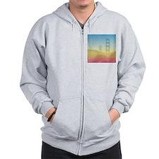 Dreamy Golden Gate Bridge Zip Hoodie