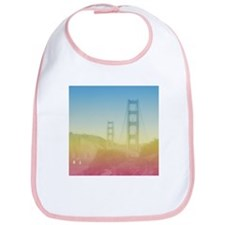Dreamy Golden Gate Bridge Bib