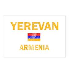 Yerevan Armenia Designs Postcards (Package of 8)