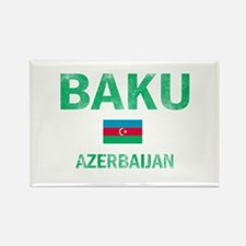 Baku Azerbaijan Designs Rectangle Magnet