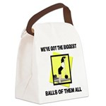 FIN-biggest-balls-bowling.png Canvas Lunch Bag