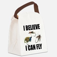 I Believe I Can Fly Canvas Lunch Bag