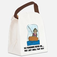 FIN-old-fishermen.png Canvas Lunch Bag