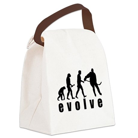 FIN-evolve hockey.png Canvas Lunch Bag