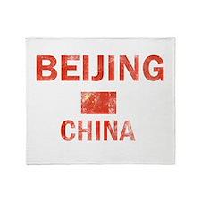 Beijing China Designs Throw Blanket