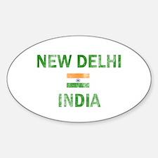 New Delhi India Designs Decal
