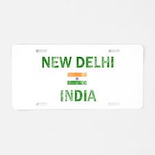 New Delhi India Designs Aluminum License Plate