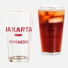 Jakarta Indonesia Designs Drinking Glass