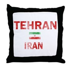 Tehran Iran Designs Throw Pillow