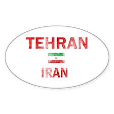 Tehran Iran Designs Decal