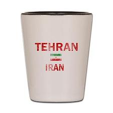 Tehran Iran Designs Shot Glass
