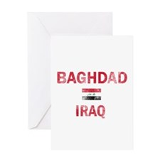 Baghdad Iraq Designs Greeting Card