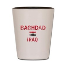 Baghdad Iraq Designs Shot Glass