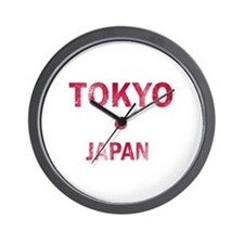 Tokyo Japan Designs Wall Clock