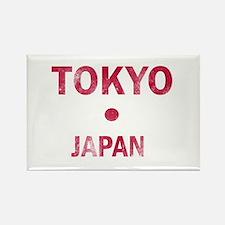 Tokyo Japan Designs Rectangle Magnet