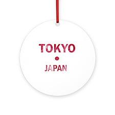 Tokyo Japan Designs Ornament (Round)