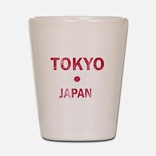 Tokyo Japan Designs Shot Glass