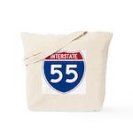 I-55 Highway Tote Bag