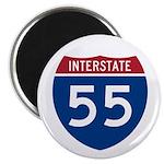 I-55 Highway Magnet