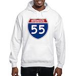 I-55 Highway Hooded Sweatshirt