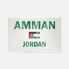 Amman Jordan Designs Rectangle Magnet