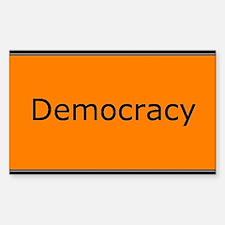 Democracy Decal