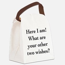 Here I Am Canvas Lunch Bag