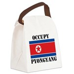 FIN-occupy-pyongyang.png Canvas Lunch Bag