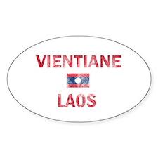 Vientiane Laos Designs Decal
