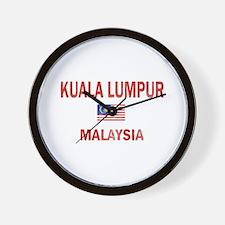 Kuala Lumpur Malaysia Designs Wall Clock