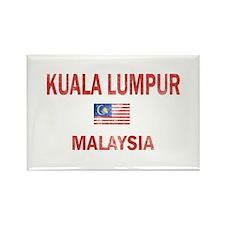 Kuala Lumpur Malaysia Designs Rectangle Magnet