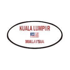 Kuala Lumpur Malaysia Designs Patches