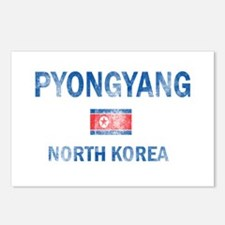 Pyongyang North Korea Designs Postcards (Package o
