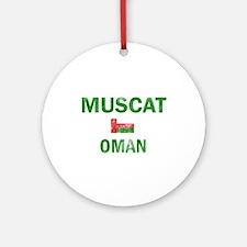 Muscat Oman Designs Ornament (Round)