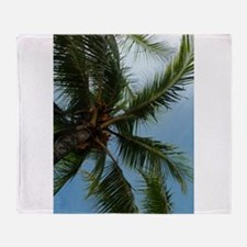 Palm Tree Costa Rica Throw Blanket