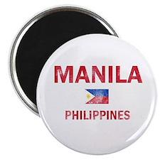 Manila Philippines Designs Magnet