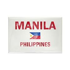 Manila Philippines Designs Rectangle Magnet