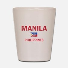 Manila Philippines Designs Shot Glass