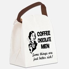 FIN-coffee-chocolate-men.png Canvas Lunch Bag