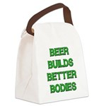 FIN-beer-builds-better-bodies.png Canvas Lunch Bag