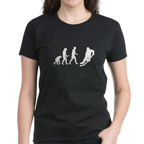 Hockey Evolution Women's Dark T-Shirt