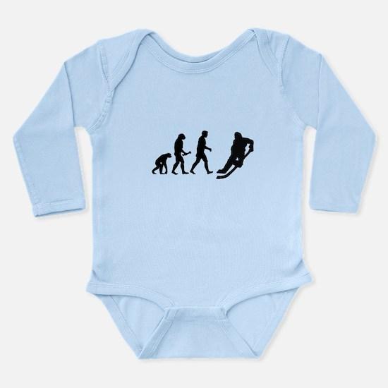 Hockey Evolution Long Sleeve Infant Bodysuit