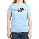 Texas Women's Pink T-Shirt